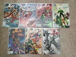 Justice-League-Of-America-Comic-Lot-1-7-Hitch-Harley-Variant-2015