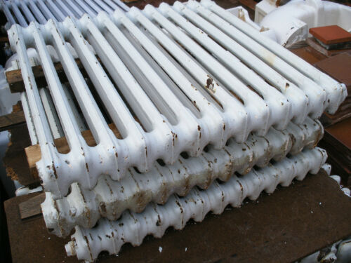 tested Reclaimed cast iron 2 column wall mounted period radiators £80 each