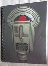 Duncan-Miller Model 50 Parking Meter Care and Maintenance Manual  28 pages