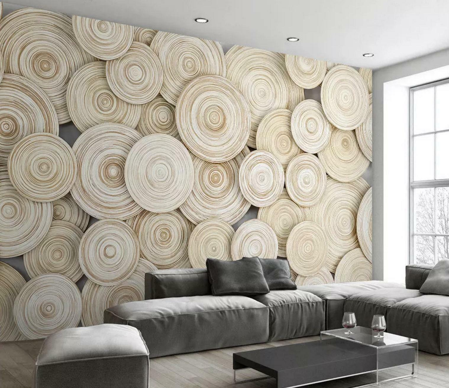 3D Annual Ring 845 Wall Paper Exclusive MXY Wallpaper Mural Decal Indoor Wall AJ