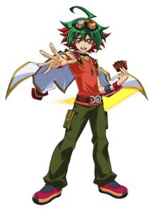 Das Bild Wird Geladen Yugioh Orica Anime Cosplay YUYA SAKAKI Deck Yugi