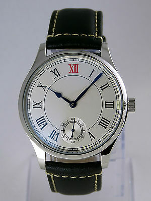 Montre MARINE Roman mecanique Seagull type 6498 Unitas deck watch Uhr NEUVE