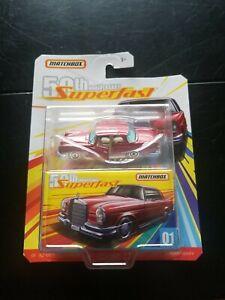 MATCHBOX 50th Anniversary Superfast #1 /'62 Mercedes 220SE