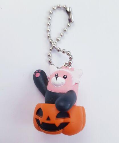 Halloween Pokemon Beware Pumpkin Keychain Keyring Pendent Cute