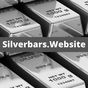 Silverbars.website The Actual Domain Name to Sell Silver Bars