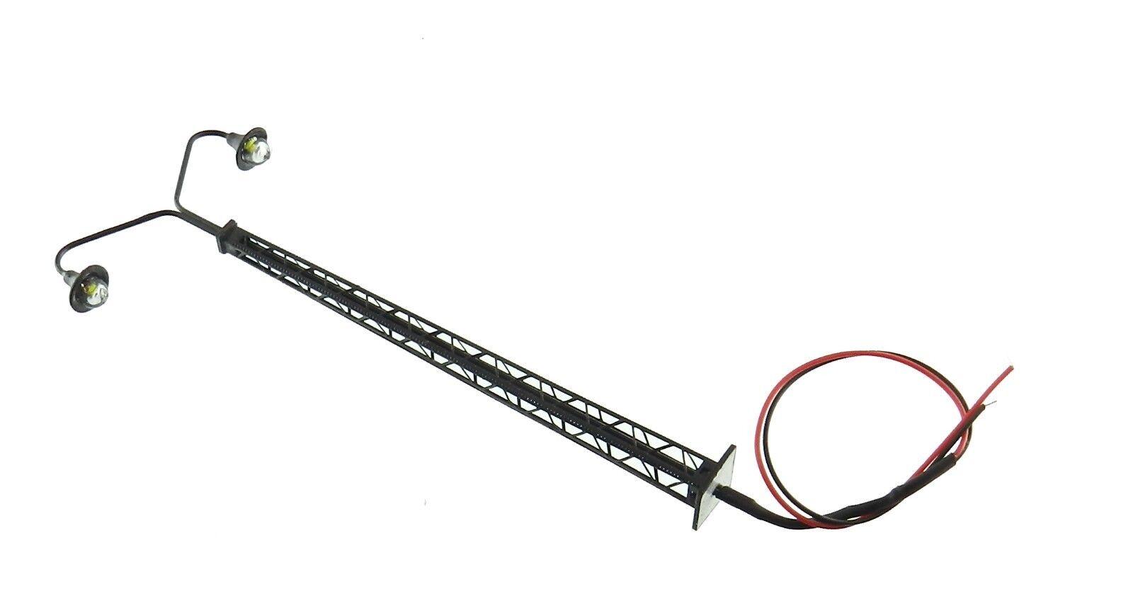 S121#  Pyl ne double  HO HO HO style ancien , éclairage LED CMS Lampadaire b6d34e