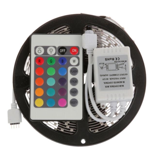 Waterproof 5M 10M 15M 5050 SMD 300 LED Flexible Strip Light RGB Warm/Cool White