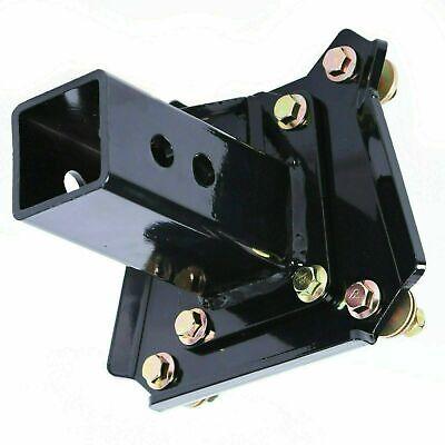 "Rear 2/"" Hitch Receiver Plate for 14-17 Polaris RZR XP1000 XP 4 Trailer End Link"