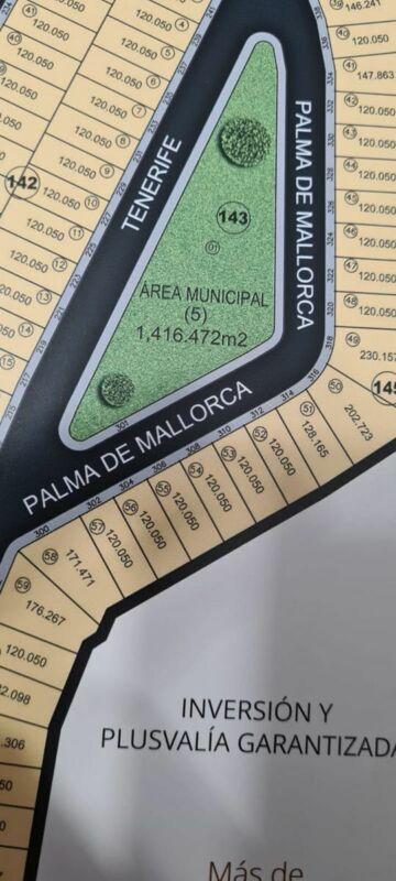 Terreno en Privadas de Rinconada