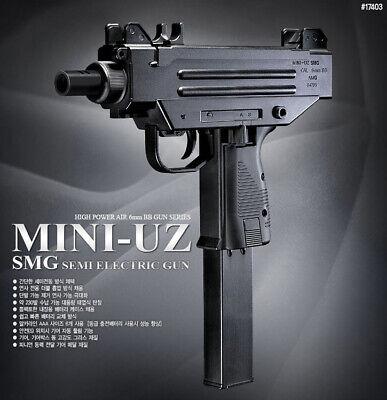 Academy Mini UZ Rifle Full Size Airsoft Semi Electric Pistol BB Replica Toy Gun