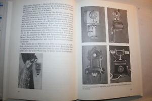 Buch-Geschichte-Nachrichtentechnik-Telefon-Telegrafie-Radio-Morsen-DDR-1987