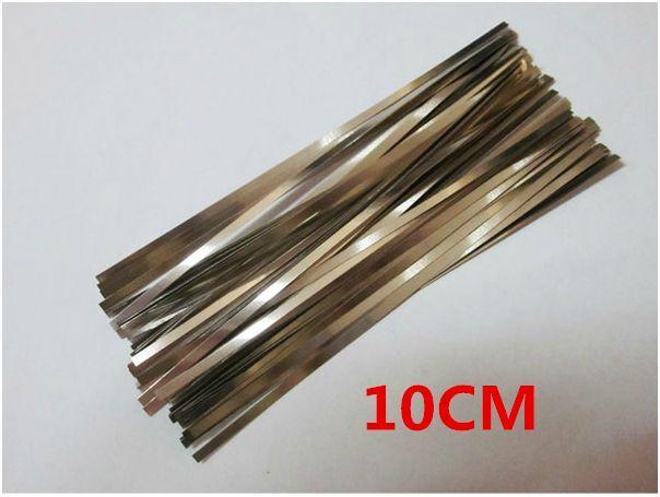 10pcs 10cm Nickel Strips belt for Mobile Power Bank 18650 Battery Charger DIY