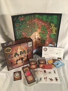 Camp Board Game The Game That Grows With You Education Outdoors Ebay