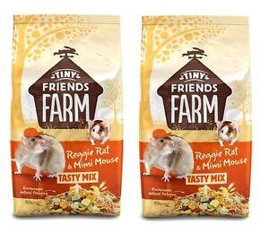 REGGIE-RAT-2-X-850G-BAGS-COMPLET-MEAT-FREE-MUESLI-DIET-FOOD-FEED-TOTAL-1-7KG