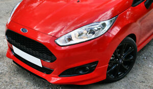Ford-Fiesta-Mk7-2013-2015-Zetec-S-Mira-Frontal-parachoques-Spoiler-Falda-Bastidor