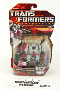 Cybertronian Megatron WFC Sealed MISB MOSC Deluxe Generations Transformers