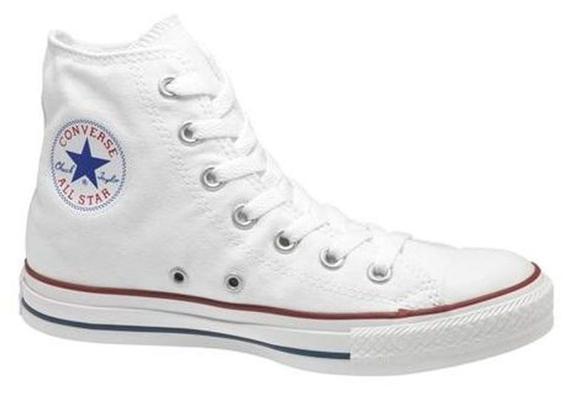 Original Converse Optical White Hi White CHUCK TAYLOR ALL STAR M7650