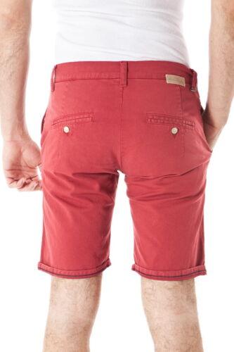Short Cotone 9 Uomo Alessandrini Rosso Bermuda Daniele Pj5250l1013302 qtwE6gg