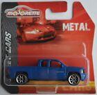 Majorette - Chevy Silverado Pickup / Chevrolet blau Neu/OVP Radvariante