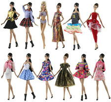 15 items=5* Fashion Handmade Party Dress//Clothes//Gown 10 shoes For 11.5in.Doll