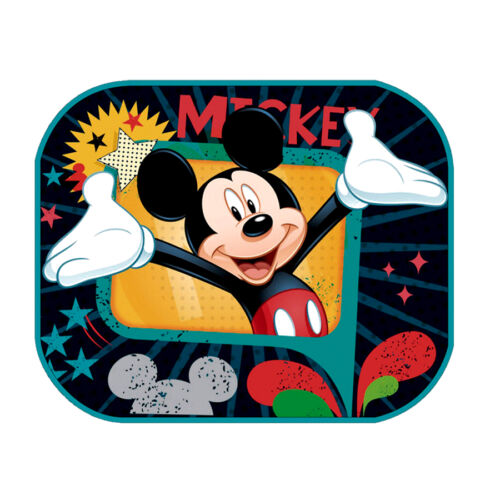 Mickey2 Set of2 Protectors Car Window Sun shades Baby Boy Girl Children Poster