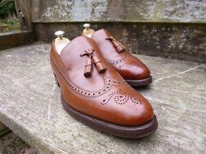 Brown 9 Church Loafers Tan Kingston eccellenti Tassel Condizioni 5 Uk wff4xpZq