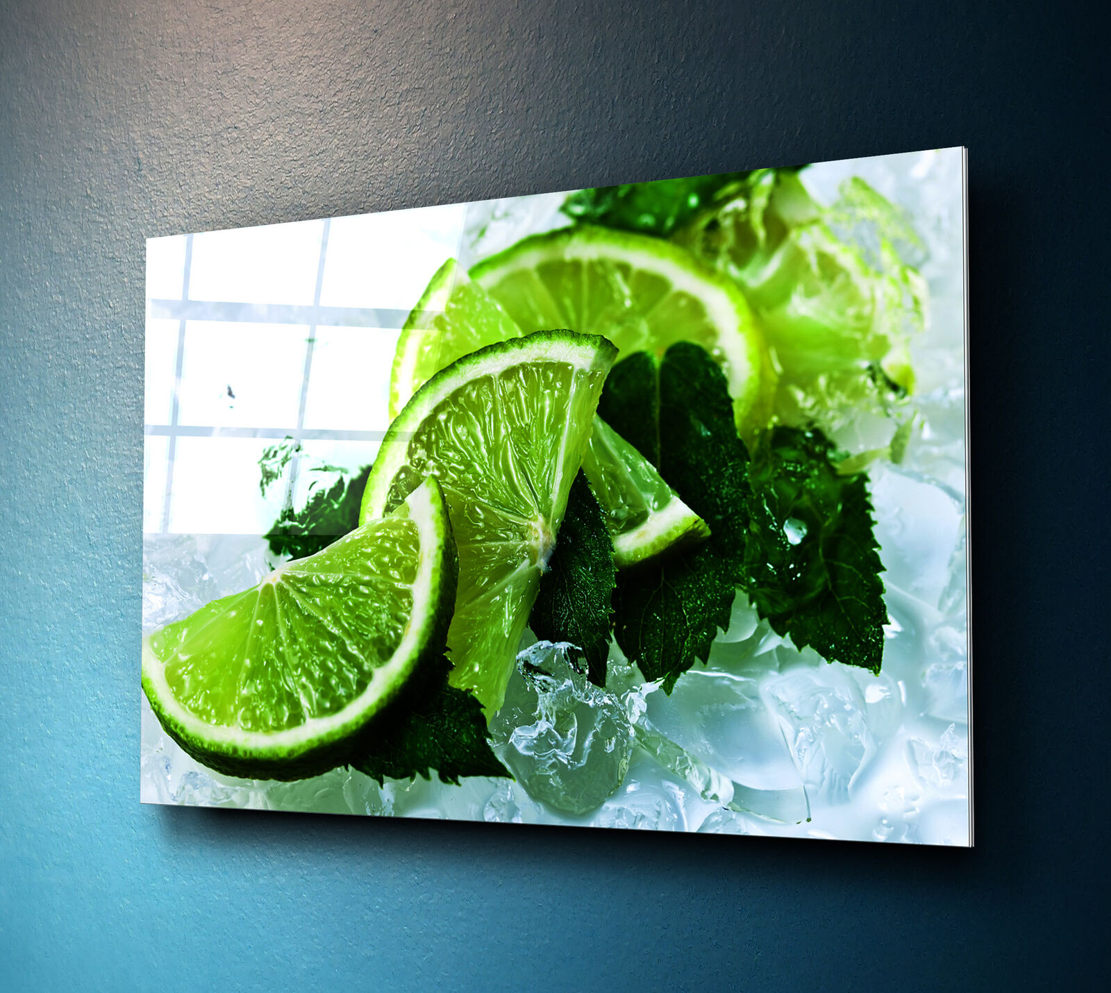 Glass Print Wall Art 100x70cm Image on Glass Decorative Wall Picture 76048266