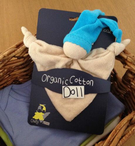 Blue 18.30.5 Keptin Jr Organic Cotton Toy ZMOOZ Comforter Blanket Doll Rattle