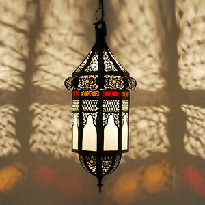 Oriente Marruecos Lámpara Oriental Linterna Raza Colgante wqHZ5I5xB