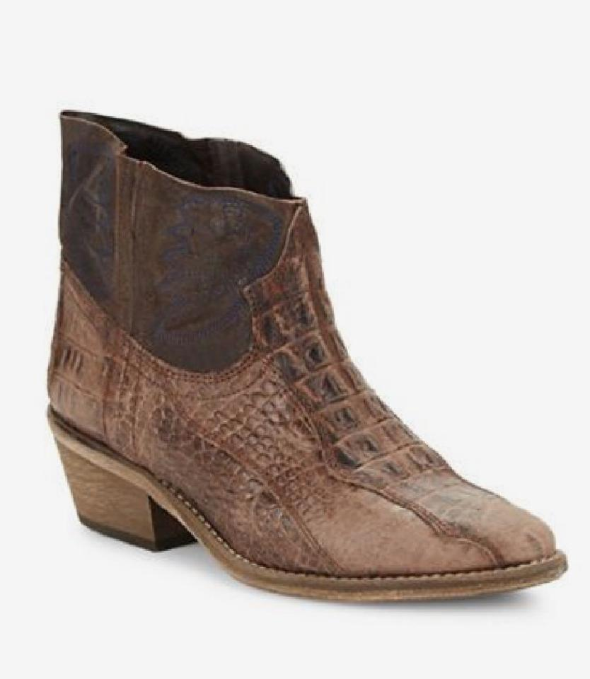 seleziona tra le nuove marche come Free People Dorado Ankle avvio Marrone Combo New Western Western Western Snake Embossed Sz 37  278  n ° 1 online