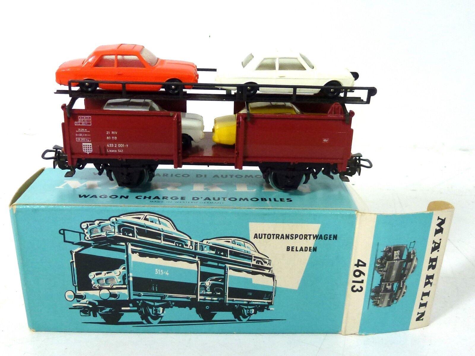 Märklin 4613 auto Transporter OVP h0 top 800