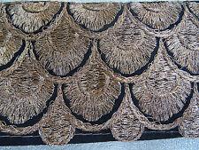 joli galon style art déco or et  noir  N°245