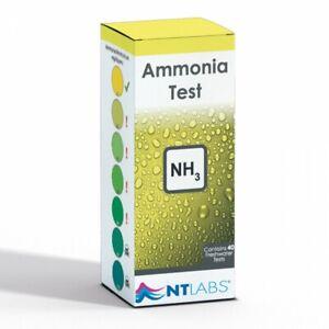NT Labs Aquarium Lab Ammonia Test Kit Aquarium Water ...
