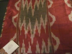 Pottery Barn Samari Ikat Pillow Cover 24 Sq Ebay