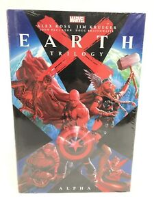 Earth-X-Trilogy-Omnibus-ALPHA-Alex-Ross-Marvel-HC-Hard-Cover-New-Sealed-125