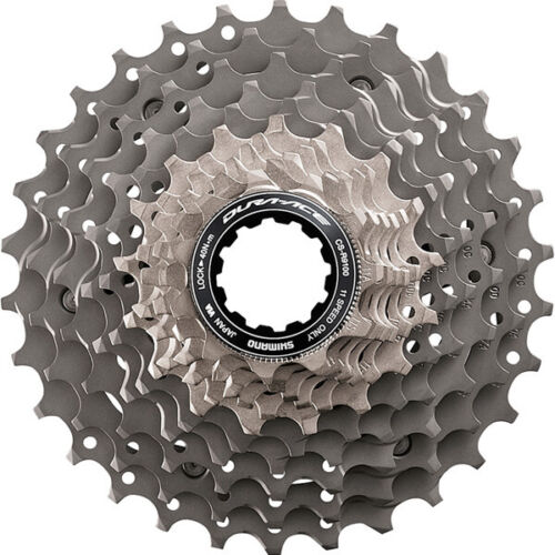 Shimano Dura Ace Cassette 11 Speed CS-R9100 for Road Racing Bikes
