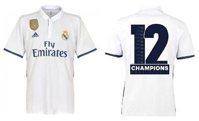MAGLIA Real Madrid 2016-2017 Home - 12 Champions League-duodecima Cardiff  2017 5ec0ad645abb7
