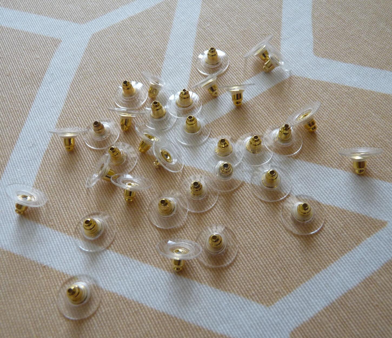 20pcs Hypoallergenic Earring Backs For Heavy Earrings Stoppers