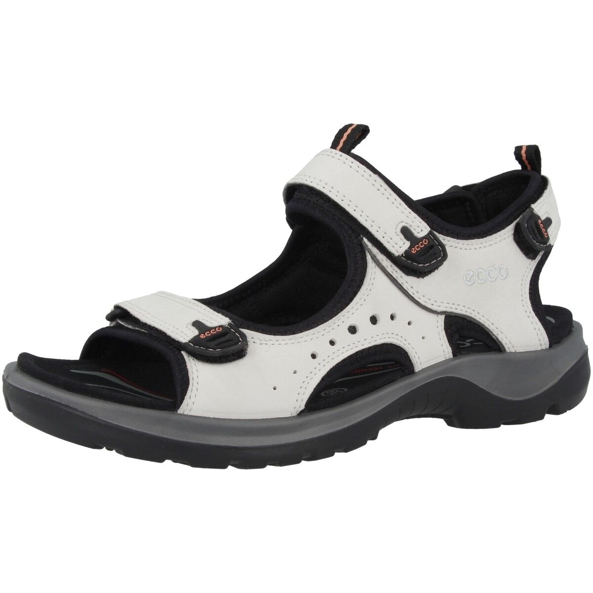 Ecco todoterreno Andes II Ladies señora trekking sandalia zapatos blanco 822043-02152