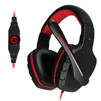 SENICC G7 Stereo Bass Gaming Headphone Headset w/ Mic For Laptop PC Mac 3.5mm