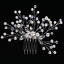 Luxury-Crystal-Rhinestone-Flower-Wedding-Bridal-Hair-Comb-Hairpin-Clip-Jewelry thumbnail 52