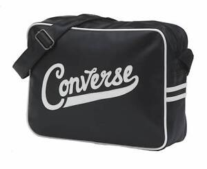 f0fc2c8686 Image is loading Converse-Basic-Reporter-Premium-Sport-Bag-Black