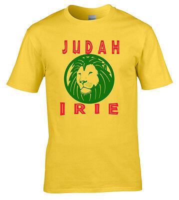 Rastafarian Irie Judah Original Unique Design Ladies Rasta T-Shirt Reggae Marley