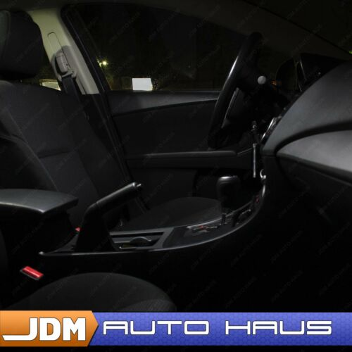 White Interior Map Tag Reverse LED Light Package Kit for 2017-2018 Ford Fiesta