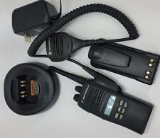 MOTOROLA HT1250 LS+ UHF RADIO 403-470MHz 255 CHANNELS TESTED ALIGNED new acc.