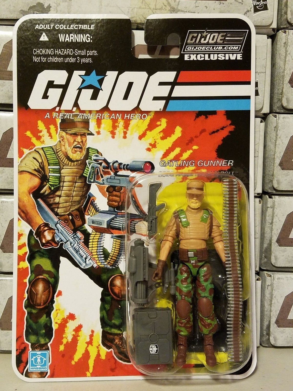 GI Joe Collector's Club 2018 Rock N Roll autoDED IN He  nuovoSEALED