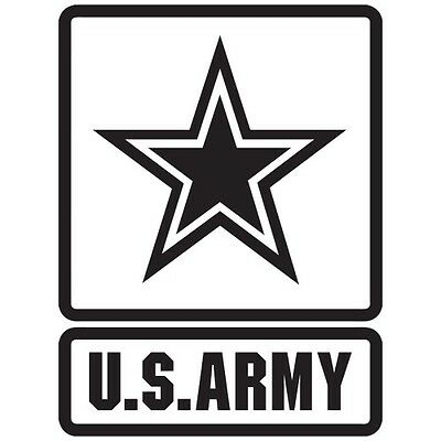 My Daughter Is In The U.S Army With Star Clear Decal