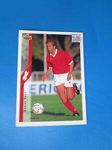 KNUP-HELVETIA-SWITZERLAND-Carte-Card-UPPER-DECK-USA-94-1994-panini