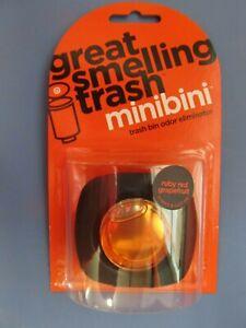 Lot Of 2 Minibini Trash Can Bin Odor Eliminator Device