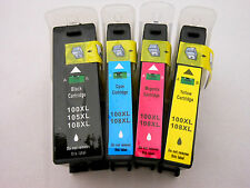 4PK Black & Color 100 XL Ink Cartridge for Lexmark PRO705 PRO805 PRO905 PRO901